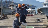 救難所員による訓練